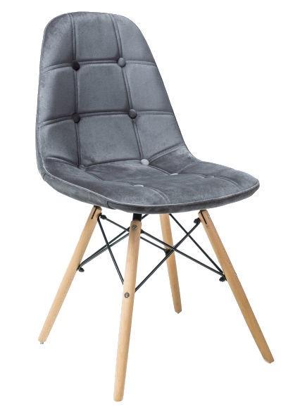 Ēdamistabas krēsls Signal Meble Axel III Gray, 1 gab.