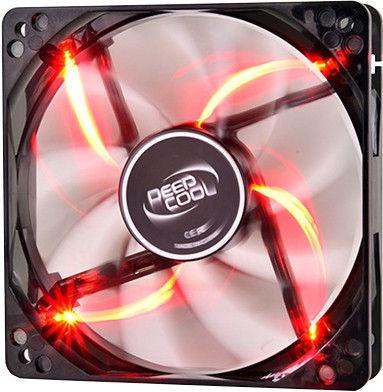 Deepcool Case Fan Wind Blade 120RD Red XDC-WB120RD
