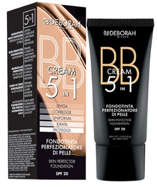 BB крем для лица Deborah Milano 5in1 Foundation SPF20 03, 30 мл