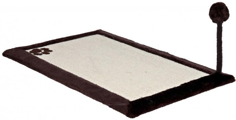 Rotaļlieta kaķim Trixie 4323 Scratching Mat with Plush Border