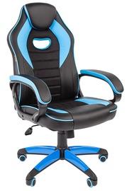 Spēļu krēsls Chairman Game 16, zila/melna