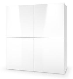 Kumode Halmar Livo KM-100, balta, 29x100x100 cm