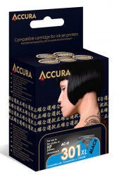 Accura Ink Cartridge HP No.302XL 15ml Color