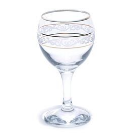 Vīna glāze Gold lines, 0.21 l, 6 gab.