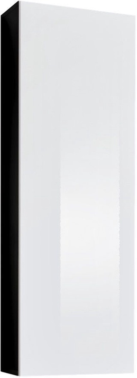 ASM Fly 20 Cupboard Hanging Cabinet Black/Whie Gloss