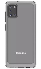 Samsung Back Case For Samsung Galaxy A31 Transparent