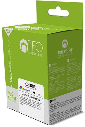 TFO Cartridge Canon C-38R 9ml C/M/Y