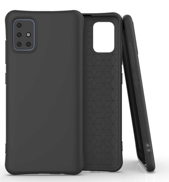 Fusion Solaster Back Case For Samsung Galaxy A51 Black