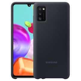 Silicone cover for Samsung A41 black