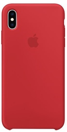 Apple Silicone Back Case For Apple iPhone XS Max Product Red