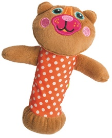 Oops Squeaker Toy Bear Brown 13006.11