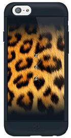 White Diamonds Safari Leo Case With Swarovski Crystals For Apple iPhone 6/6s Black
