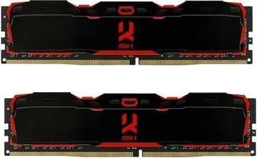 Operatīvā atmiņa (RAM) Goodram RDM X Black IR-X3200D464L16S/16GDC DDR4 16 GB CL16 3200 MHz