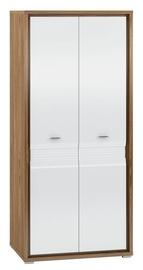 ML Meble Dallas 01 Wardrobe Walnut/White