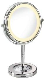 Kosmētiskais spogulis Babyliss Halo 8435E Chrome, ar gaismu, stāvošs, 11x28.6 cm