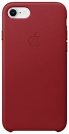 Apple Leather Case For Apple iPhone 7 Plus/8 Plus Red