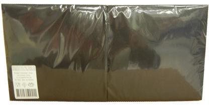 Lenek Napkins 33cm 3 Plies Black 250pcs