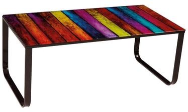 Kafijas galdiņš Signal Meble Taxi II Stripes, 1050x550x430 mm