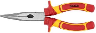 """Knaibles Kreator KRT620002 VDE Bent Nose Plier 8"""""""