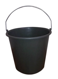 SN Bucket With Metal Handle 20l Black
