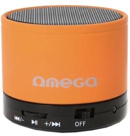 Bezvadu skaļrunis Omega OG47B Metal Body Orange, 3 W