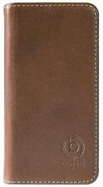 Bugatti Oslo Book Cover For Samsung Galaxy S5 Brown