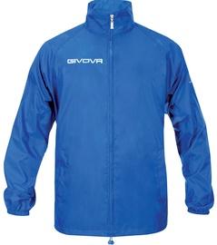 Givova Basico Rain Jacket Blue 2XS