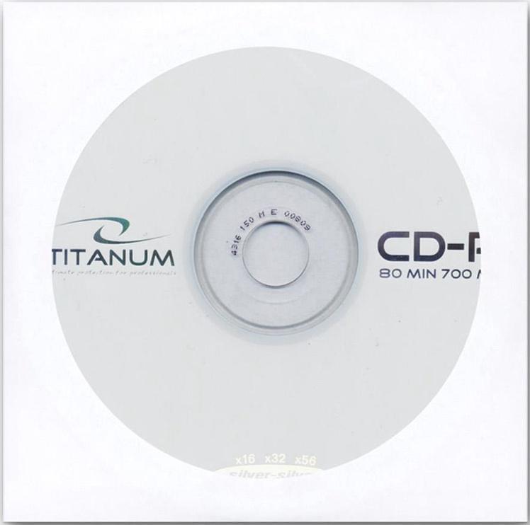 Esperanza 2097 Titanum CD-R 52x 700MB Envelope 500pcs