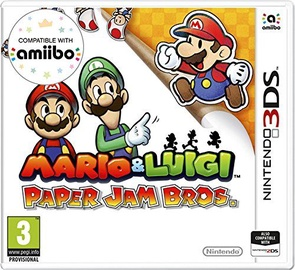 Mario And Luigi: Paper Jam Bros. 3DS