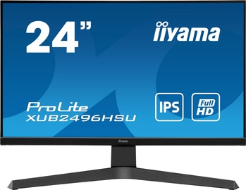 "Monitors Iiyama Prolite XUB2496HSU-B1, 24"", 1 ms"