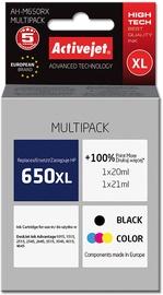 ActiveJet AH-M650RX replacement for HP 650 CZ101/CZ102 Black/Multi Color