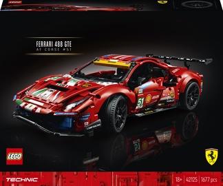 "Konstruktors LEGO Technic Ferrari 488 GTE ""AF Corse #51"" 42125, 1677 gab."