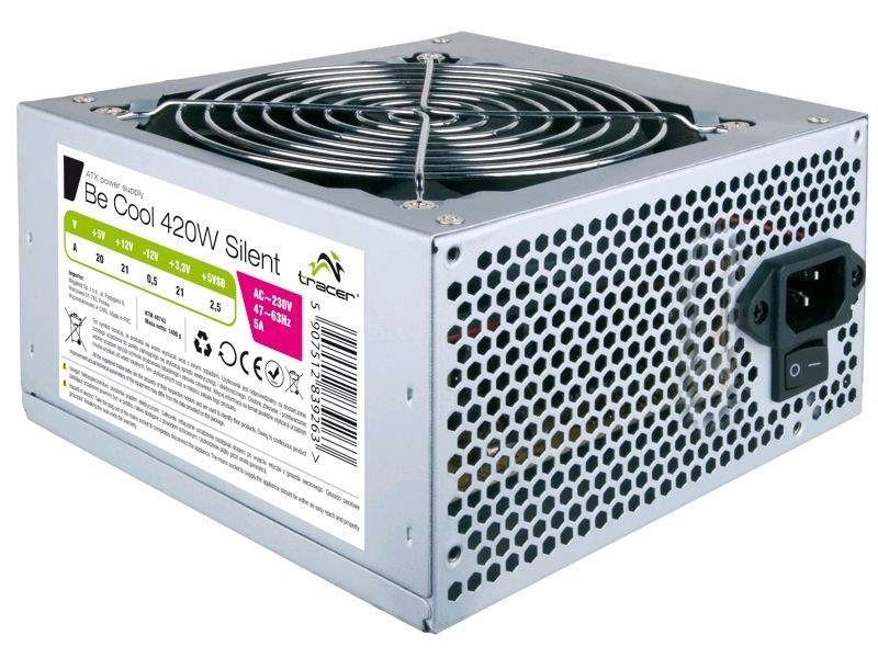 Tracer ATX 1.3 Be Cool 420W Silent TRAZAS40742