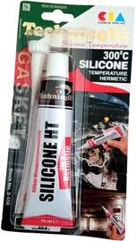 Technicqll High Temperature Silicone 300° Temperature Hermetic Black 70ml