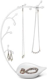 Umbra Orchid Jewelry Tree White