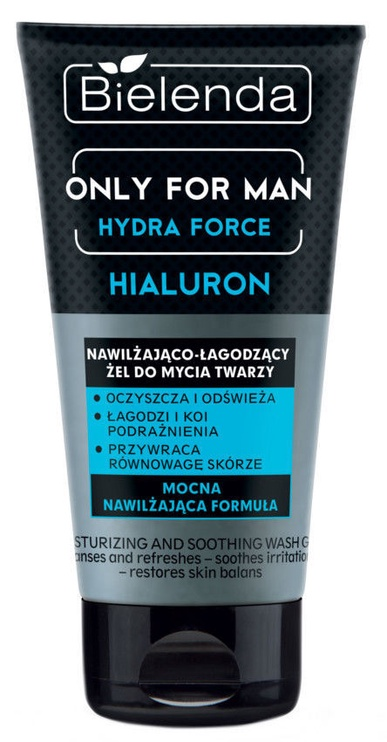 Bielenda Only For Man Hydra Force Moisturizing And Soothing Face Cleansing Gel 150ml