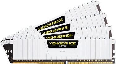 Corsair Vengeance LPX White 64GB 2666MHz CL16 DDR4 KIT OF 4 CMK64GX4M4A2666C16W