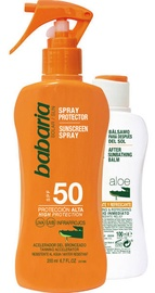 Babaria Sunscreen Spray Aloe SPF50 200ml + Aloe Vera After Sun 100ml
