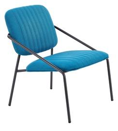Atzveltnes krēsls Halmar Dennis Blue, 62x66x75 cm