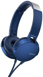 Austiņas Sony MDR-XB550AP Extra Bass Blue