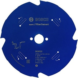 Bosch 2608644122 EX FC H Circular Saw Blade 165x20x2.2mm