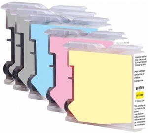 Uprint Cartridge for Brother 20ml x 2 Black Cyan 10ml Magenta 10ml Yellow 10ml