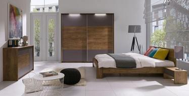 Guļamistabas mēbeļu komplekts Maridex Latika Gray