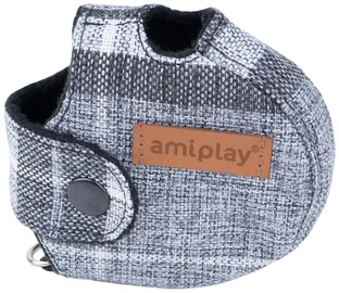 Amiplay London Infini Retractable Leash Cover Gray L