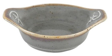 Porland Seasons Serving Plate D8cm Dark Grey