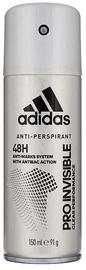 Vīriešu dezodorants Adidas Pro Invisible 48h 150ml Deodorant Spray