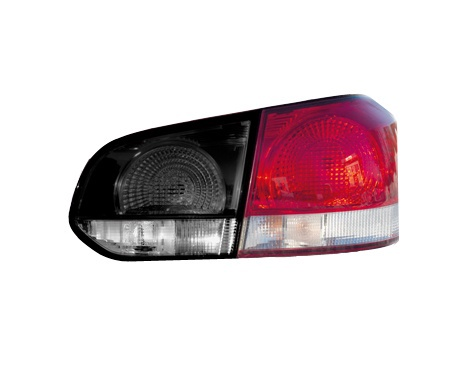 SN Car Lamp Sticker Black