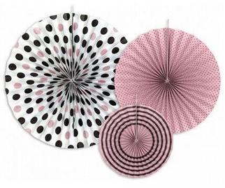 Dekorācija Party&Deco Decorative Rosettes 40/32/23cm 3pcs