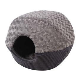 SN Cat Cushion Grey 43x47x38cm