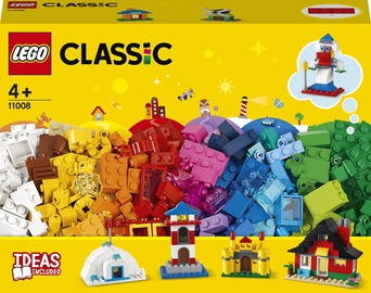 Конструктор LEGO Classic Кубики и домики 11008, 270 шт.